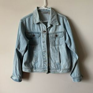 Vintage 80s 90s bill bless light wash denim jacket